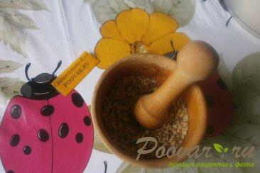 Ореховое печенье с гречкой Шаг 2 (картинка)