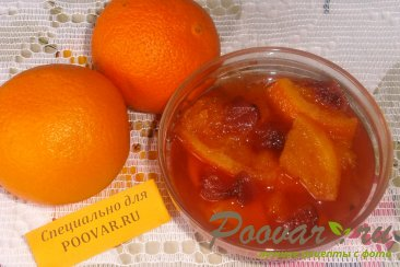 Варенье из апельсинов и клубники Изображение