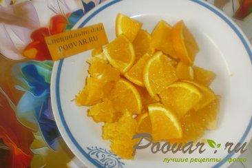 Варенье из апельсинов и клубники Шаг 1 (картинка)