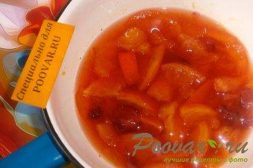 Варенье из апельсинов и клубники Шаг 4 (картинка)