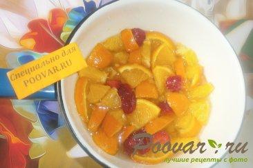 Варенье из апельсинов и клубники Шаг 3 (картинка)