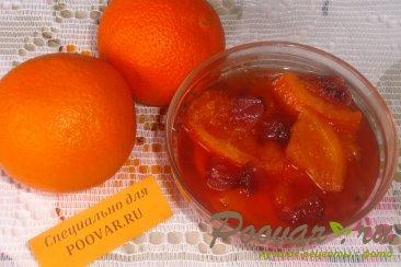 Варенье из апельсинов и клубники Шаг 5 (картинка)