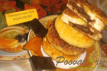 Сырники с шоколадом Изображение