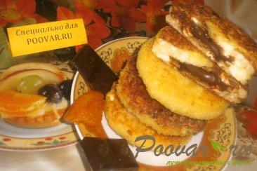 Сырники с шоколадом Шаг 10 (картинка)