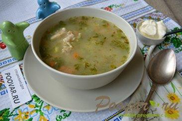 Суп с мясом и пшеном Шаг 9 (картинка)