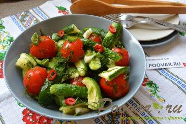 Малосольные огурцы, помидоры и цукини Шаг 9 (картинка)