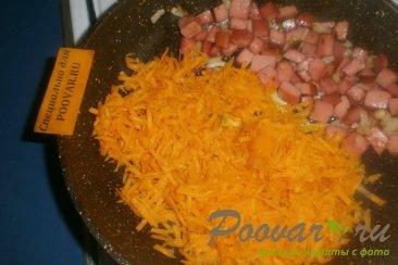 Рисовая каша с колбасой Шаг 7 (картинка)