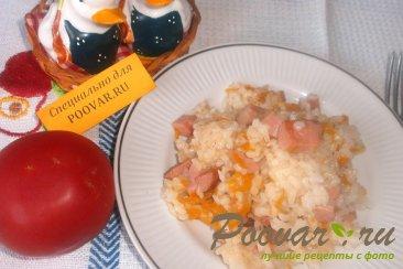 Рисовая каша с колбасой Шаг 12 (картинка)