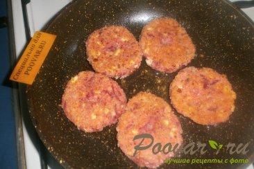 Сырники со свеклой и арахисом Шаг 9 (картинка)
