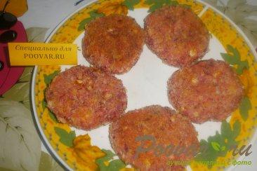 Сырники со свеклой и арахисом Шаг 10 (картинка)
