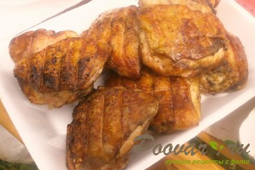 Куриные бёдра на мангале Шаг 8 (картинка)