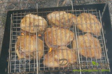 Куриные бёдра на мангале Шаг 6 (картинка)
