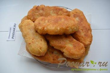 Пирожки с картошкой и сосисками Шаг 7 (картинка)