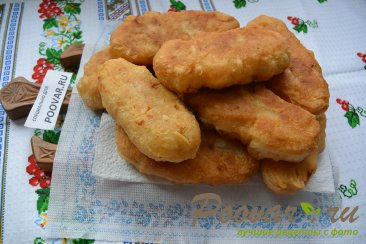 Пирожки с картошкой и сосисками Шаг 8 (картинка)