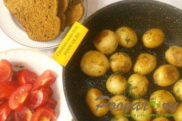 Картофель для пикника Изображение