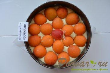 Быстрый пирог на кефире с абрикосами Шаг 9 (картинка)