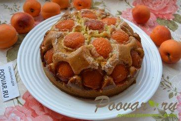 Быстрый пирог на кефире с абрикосами Шаг 11 (картинка)