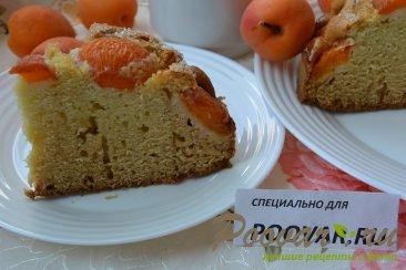 Быстрый пирог на кефире с абрикосами Шаг 12 (картинка)