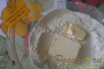Пирог с клубникой в сметанной заливке Шаг 1 (картинка)