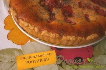 Пирог с клубникой в сметанной заливке Шаг 15 (картинка)