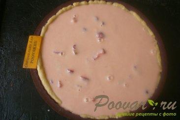 Пирог с клубникой в сметанной заливке Шаг 13 (картинка)