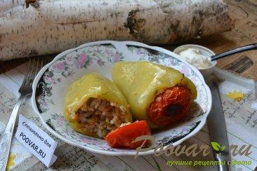 Фаршированный перец запеченный в духовке Шаг 13 (картинка)