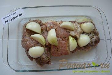 Свинина в гранатовом соусе запеченная в духовке Шаг 3 (картинка)