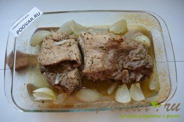 Свинина в гранатовом соусе запеченная в духовке Шаг 5 (картинка)