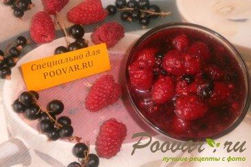 Варенье из чёрной смородины и малины Изображение