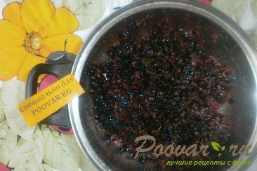 Варенье из чёрной смородины и малины Шаг 3 (картинка)