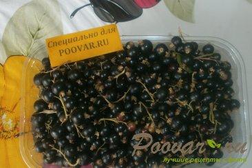 Варенье из чёрной смородины и малины Шаг 1 (картинка)