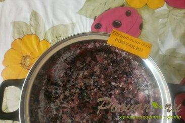 Варенье из чёрной смородины и малины Шаг 5 (картинка)