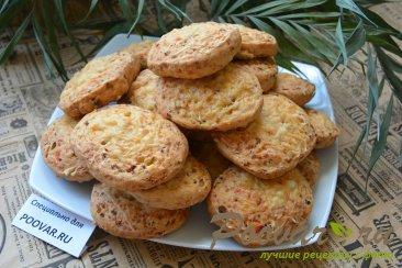 Сырное печенье с беконом Изображение