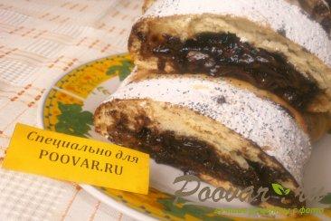 Пирог с шоколадом и бананом Изображение