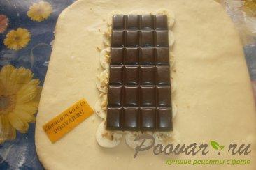 Пирог с шоколадом и бананом Шаг 7 (картинка)