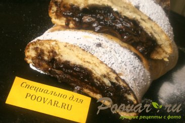 Пирог с шоколадом и бананом Шаг 11 (картинка)