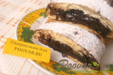 Пирог с шоколадом и бананом Шаг 12 (картинка)
