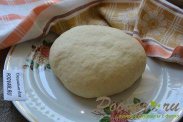 Дрожжевое тесто для пиццы Шаг 8 (картинка)