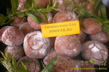 Шоколадное печенье с мятой Изображение