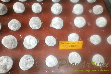 Шоколадное печенье с мятой Шаг 14 (картинка)