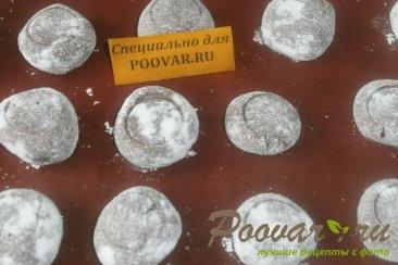 Шоколадное печенье с мятой Шаг 15 (картинка)