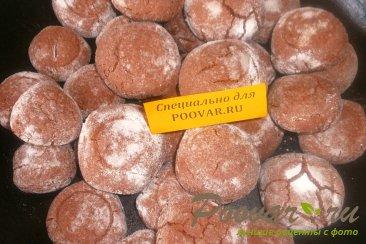 Шоколадное печенье с мятой Шаг 17 (картинка)
