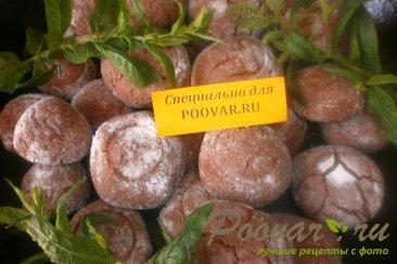 Шоколадное печенье с мятой Шаг 18 (картинка)