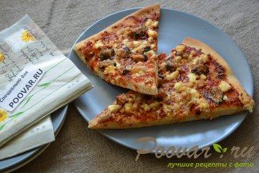 Пицца с морепродуктами Изображение