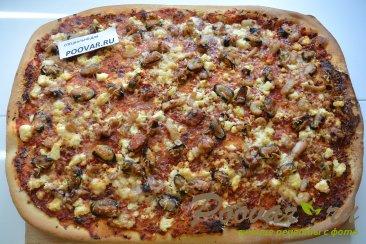 Пицца с морепродуктами Шаг 13 (картинка)