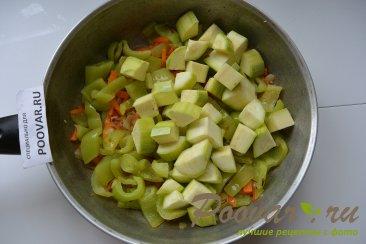 Тушеные кабачки с овощами Шаг 4 (картинка)