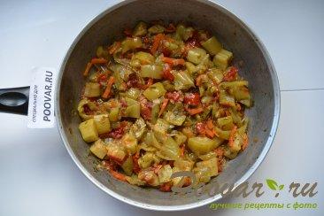 Тушеные кабачки с овощами Шаг 7 (картинка)