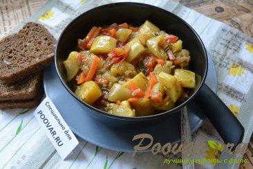 Тушеные кабачки с овощами Шаг 8 (картинка)
