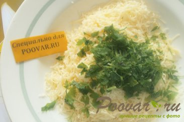 Булочки с сыром и зеленью Шаг 4 (картинка)
