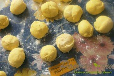 Булочки с сыром и зеленью Шаг 7 (картинка)